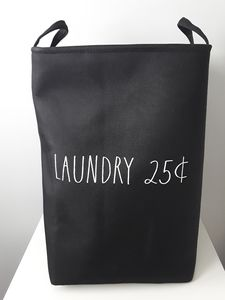 NWT Rae Dunn large stand-up Laundry Hamper